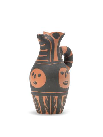 Pablo Picasso (1881-1973) Yan bandeau noir 25.5cm (10 1/16in) high