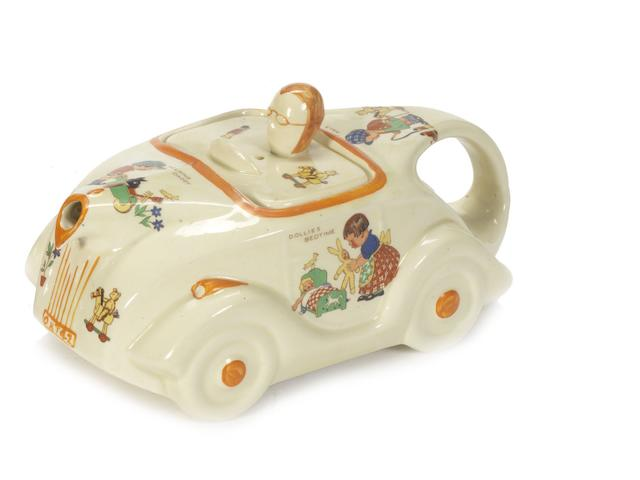 A scarce 'Mable Lucie Atwell' OKT42 teapot by Sadler, British, 1930s