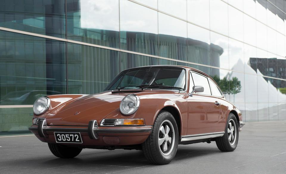 1972 Porsche 911T/E 2.4-Litre Coupé  Chassis no. 911 2101463