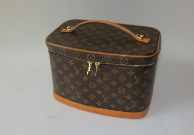 A Louis Vuitton vanity case, 1980s,