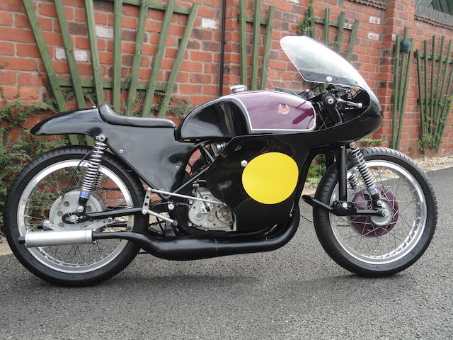 The ex-Barry Scully,1964 Scott 344cc Prototype Racing Motorcycle