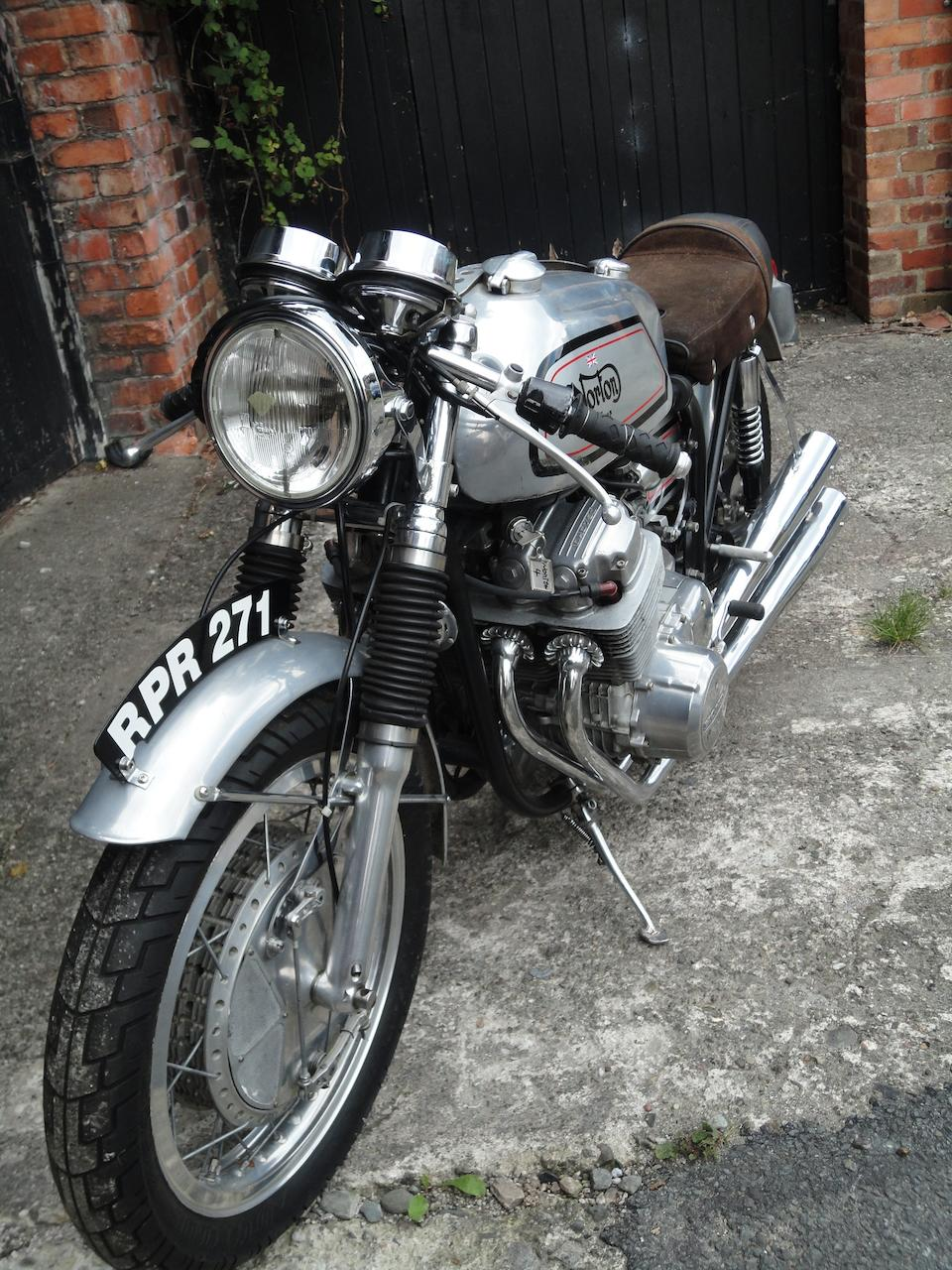 c.1961 Norton-Honda CB750 Special Frame no. BJF61 Engine no. CB750E-1022569
