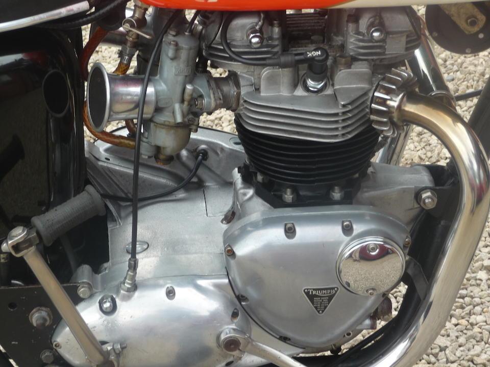 1966 Triumph T120R Bonneville Frame no. T120DU 31575 Engine no. T120 14624