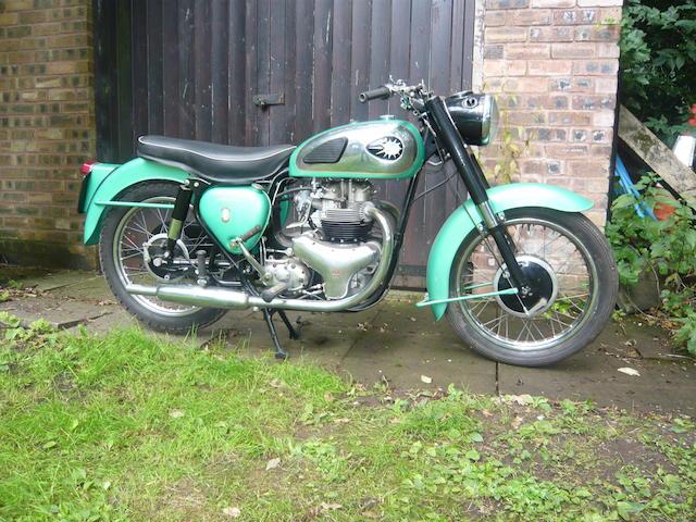 1961 BSA 497cc Shooting Star Frame no. GA 712210 Engine no. CA7SS 5920