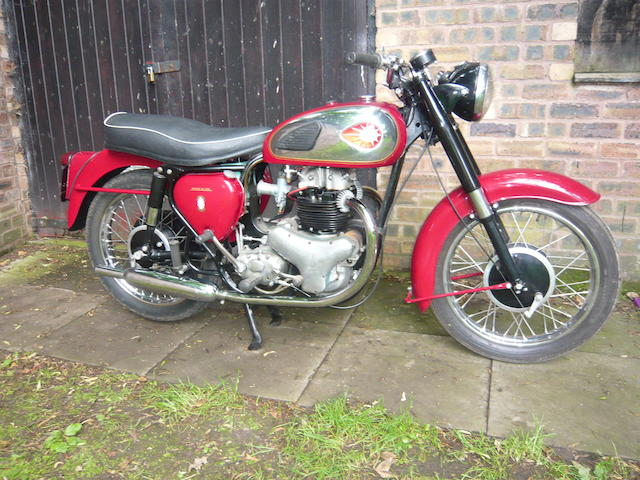 1961 BSA 497cc A7 Frame no. 716823 Engine no. 9137