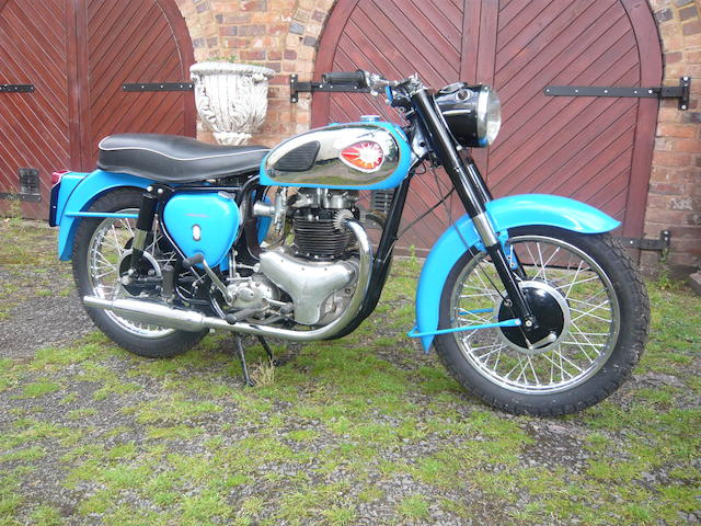 1960 BSA 650cc A10 'Golden Flash' Frame no. GA 73355 Engine no. DA 9574