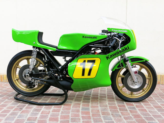 The ex-SIDEMM (Kawasaki France),1974 Kawasaki 500cc H1-RW Grand Prix Racing Motorcycle Frame no. KAF90202 Engine no. KAE90625