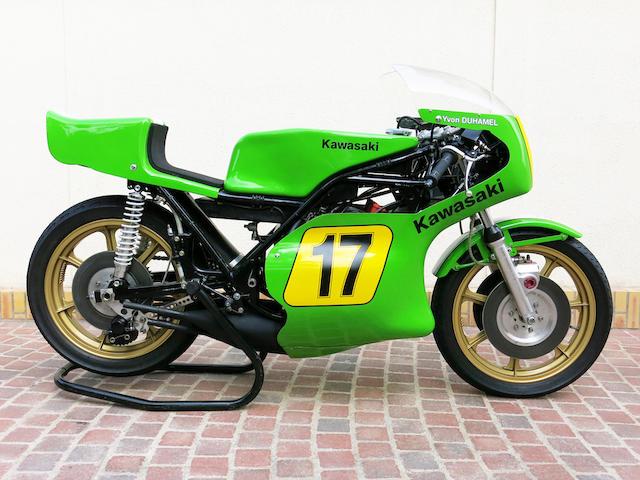 Bonhams The Ex Sidemm Kawasaki France1974 Kawasaki 500cc H1 Rw