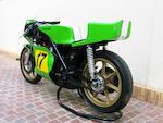 The ex-SIDEMM (Kawasaki France),1974 Kawasaki 500cc H1-RW Grand Prix Racing Motorcycle Frame no. KAF90202 Engine no. KAE90625