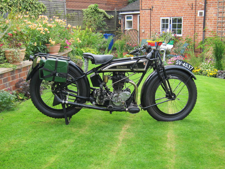1925 Rudge 500cc 4-Valve 4-Speed Frame no. to be advised Engine no. 31509