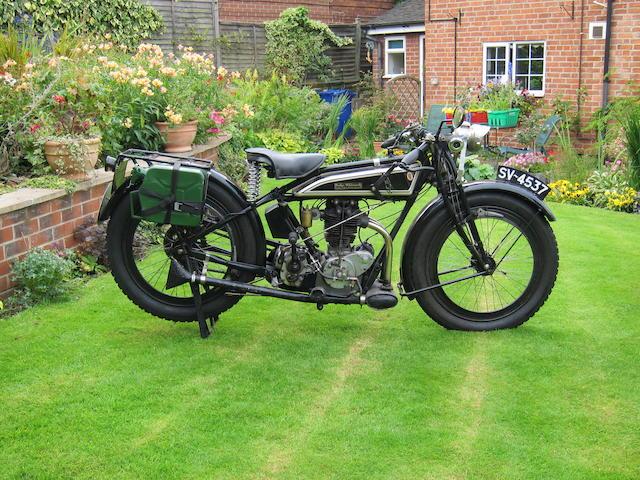 1925 Rudge 500cc 4-Valve 4-Speed Frame no. to be advised Engine no. 31509