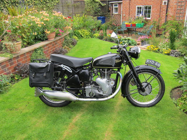 1954 Velocette 495cc MSS Frame no. RS10913 Engine no. MSS 10207