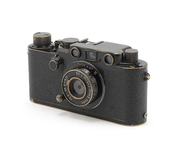 A rare Leica IIIf Black Swedish army body, 1956,