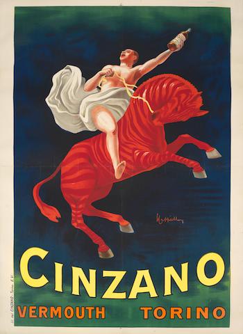 Leonetto Cappiello (1875-1942) 'CINZANO', circa 1910