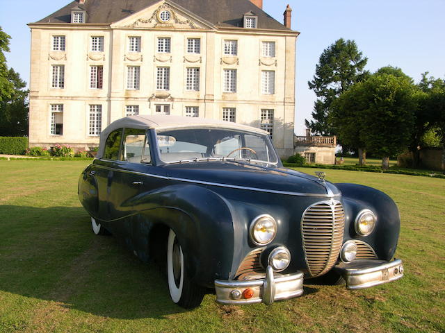 Unique Coachwork by Vesters & Neirinck of Brussels,1949 Austin A125 Sheerline Cabriolet  Chassis no. DCL 2729 Engine no. ID 4033