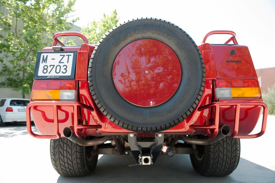 1,266 kilometres from new,1991 Lamborghini LM 002 '4x4'  Chassis no. ZA9LU45A3LLA12214
