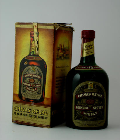 Chivas Regal-12 year old-Circa 1950's