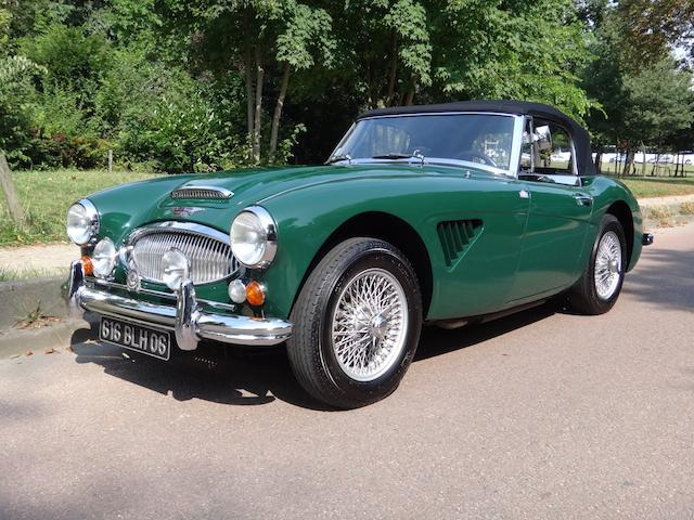 1964 Austin-Healey 3000 MkIII Phase II Convertible  Chassis no. HBJ8/L 28624