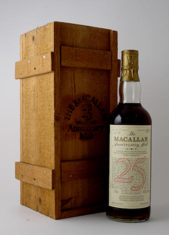The Macallan-25 year old-1957
