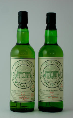 SMWS 62.10-23 year old-1979<BR /> SMWS 92.10-20 year old-1981