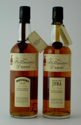 Bruichladdich-25 year old<BR /> Isle of Jura-26 year old