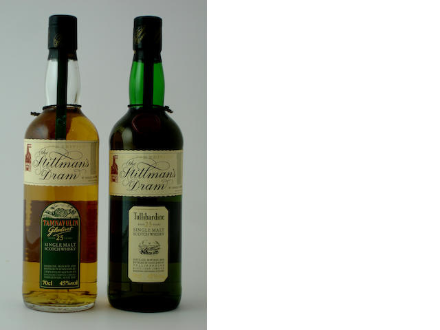 Tamnavulin-Glenlivet-25 year old<BR /> Tullibardine-25 year old