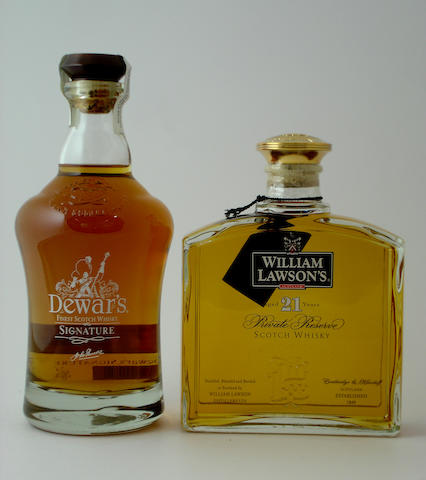 Dewar's Signature<BR /> William Lawson's Private Reserve-21 year old