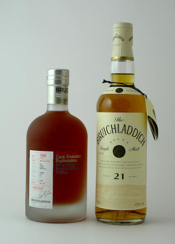 Bruichladdich-17 year old-1992<BR /> Bruichladdich-21 year old