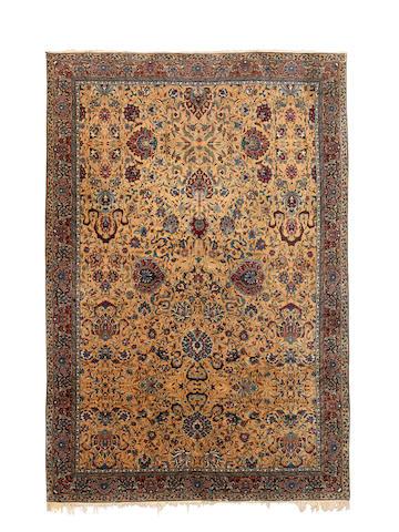 A Tabriz carpet, North West Persia, circa 1920, 470cm x 320cm