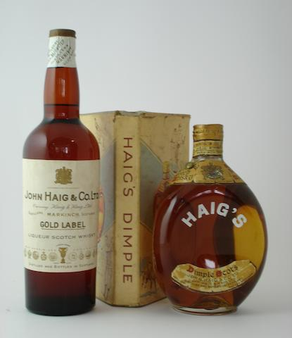 Haig Gold Label-Circa 1940<BR /> Haig Dimple Scots-Circa 1940
