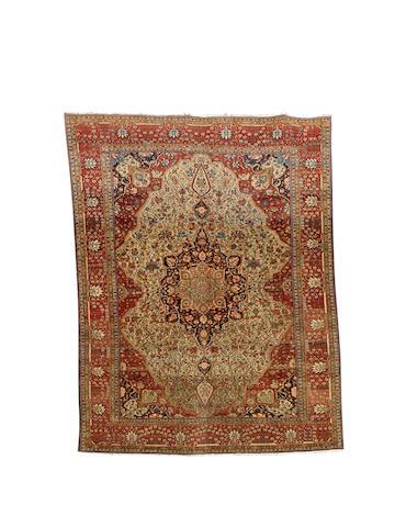 A Mohtashem Kashan carpet, Central Persia, circa 1890, 284cm x 222cm