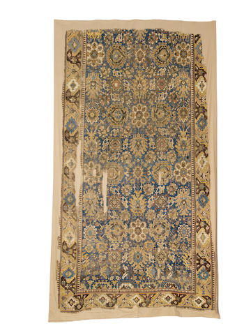 An early 18th century Karabagh carpet, South Caucasus, 480cm x 228cm