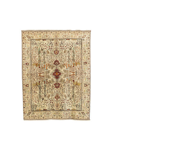 An Agra carpet, North India, circa 1900, 350cm x 250cm
