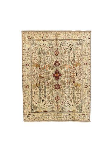 An Agra carpet, North India, circa 1900, 350cm x 250cm