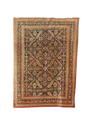 A Tabriz carpet, North West Persia, circa 1890, 375cm x 270cm