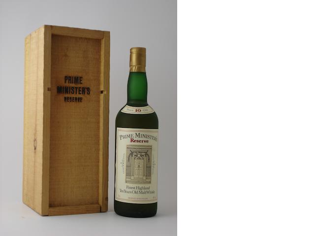 The Glenlivet Prime Minister's Reserve-10 year old
