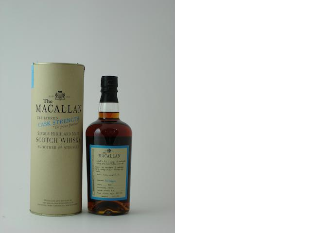 The Macallan Cask Strength-1989