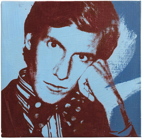 Andy Warhol (American, 1928-1987) Portrait of Yves Saint Laurent