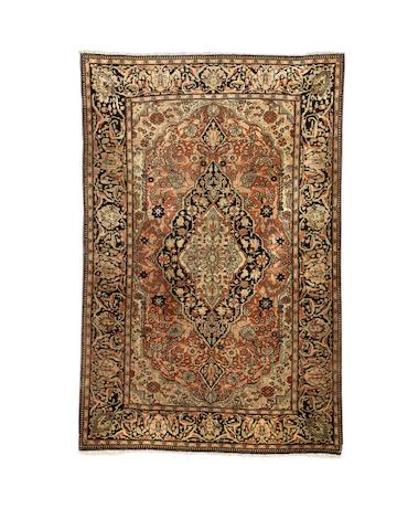 A Mohtashem Kashan rug, Central Persia, circa 1890, 203cm x 130cm