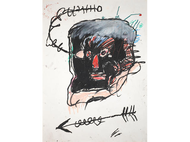 Jean-Michel Basquiat (1960-1988) Untitled <BR />1982