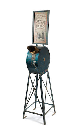 A Mutoscope pier head viewer, American, circa 1910,