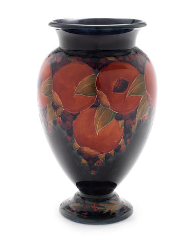 William Moorcroft 'Pomegranate' a Large Vase, 1918
