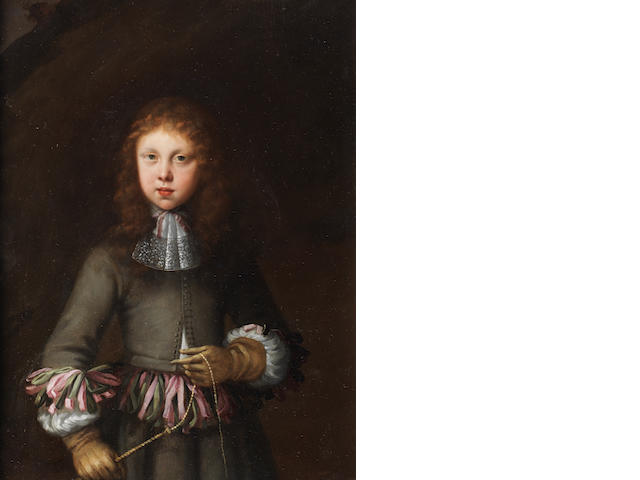 Dutch School, late 17th Century Portrait of a boy, three-quarter-length,