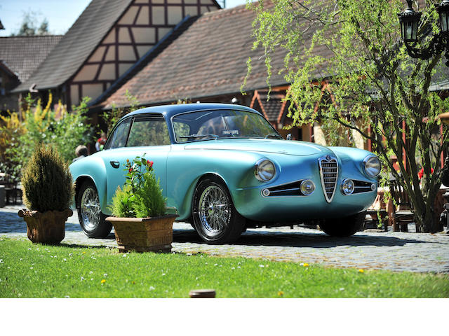 Mille Miglia eligible and former Pebble Beach entrant,1954 Alfa Romeo 1900C Sprint Series 2 Coupé  Chassis no. AR1900C 01880 Engine no. AR 1308 00894