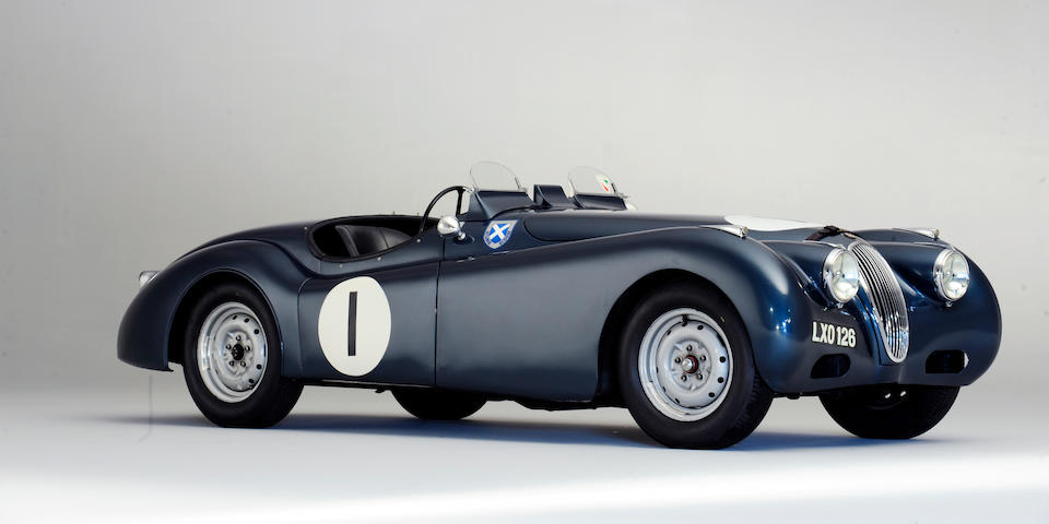 The Ex-Sir James Scott-Douglas/Ecurie Ecosse,1951 Jaguar XK120 Roadster  Chassis no. 660578 Engine no. W28687