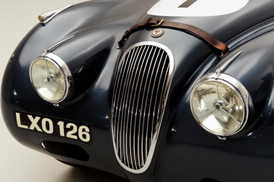 The Ex-Sir James Scott-Douglas/Ecurie Ecosse,1951 Jaguar XK120 Roadster  Chassis no. 660578 Engine no. W28687