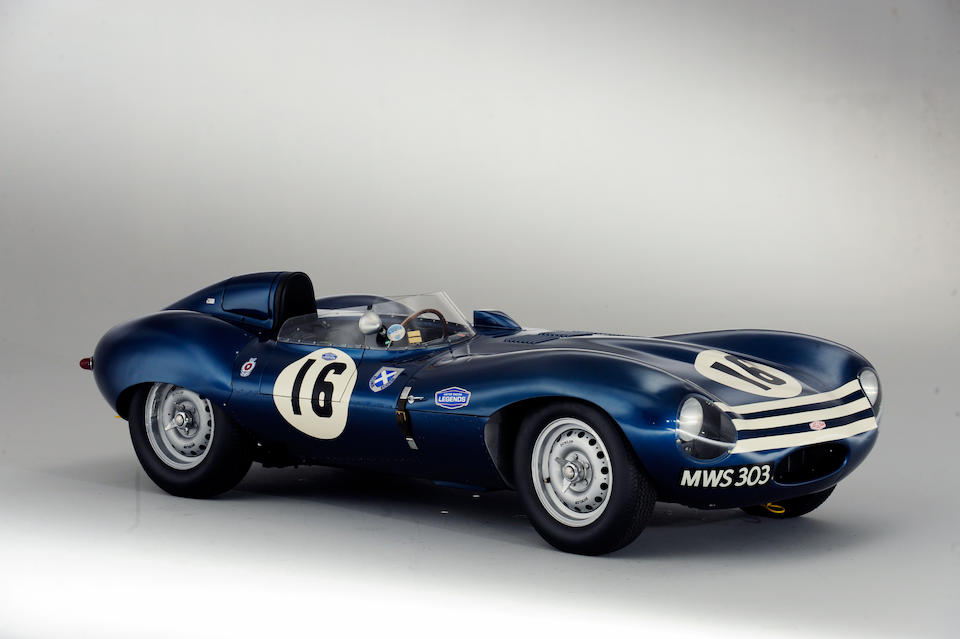The Ex-Ron Flockhart, Ninian Sanderson, Jock Lawrence,1956 Jaguar D-Type 'Shortnose' Sports-Racing Two-Seater  Chassis no. XKD 561 Engine no. Two units supplied - see text