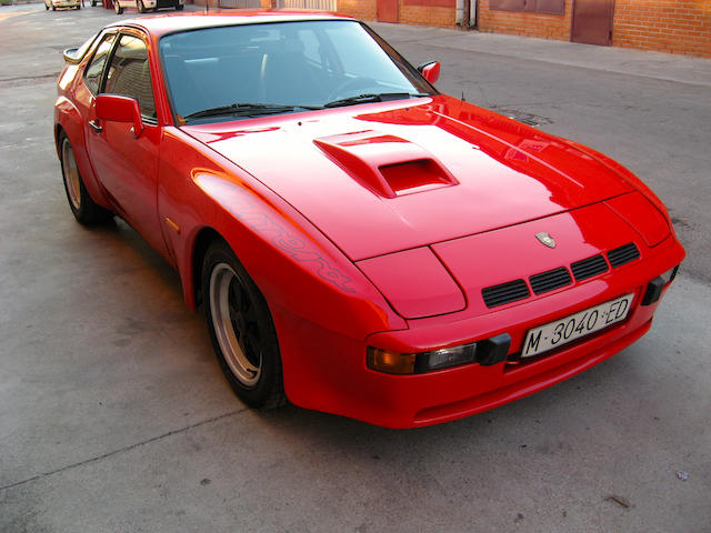 One of only 406 examples produced,1980 Porsche 924 Carrera GT Coupé  Chassis no. WPOZZZ93ZBN700174 Engine no. 31500392