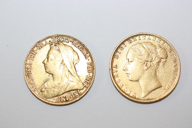 Victoria: Two sovereigns, (2)