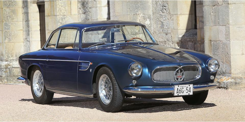 Mille Miglia eligible,1957 Maserati A6G/54GT Coupé  Chassis no. 2116 Engine no. 2112 (see text below)